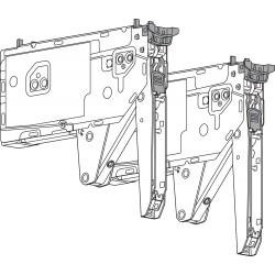 Front uchylny AVENTOS HK top, siłownik, współczynnik mocy 1730-5200 (przy 2 sztukach), do TIP-ON
