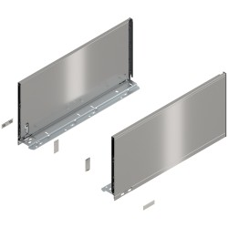 Bok szuflady LEGRABOX, wys. F (241,0 mm), dł. 500 mm, lewy/prawy, do LEGRABOX pure