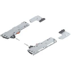 TIP-ON BLUMOTION zestaw (Jednostka + Zabierak + Adapter) do LEGRABOX/MOVENTO, Typ L3, dł. NL 350-750 mm, Całkowita waga szuflady
