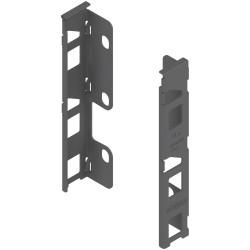 Uchwyt drewnianej ścianki tylnej LEGRABOX, wys. K (144 mm), prawy+lewy