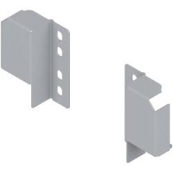 TANDEMBOX plus/antaro uchwyt relingu (tylny) do regulowanego relingu, na wkręty, prawy+lewy
