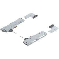 TIP-ON BLUMOTION zestaw (Jednostka + Zabierak + Adapter) do LEGRABOX/MOVENTO, Typ L1, dł. NL 350-750 mm, Całkowita waga szuflady