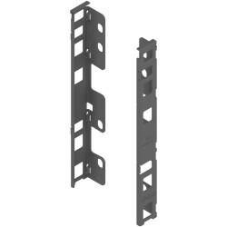 Uchwyt drewnianej ścianki tylnej LEGRABOX, wys. C (193 mm), prawy+lewy