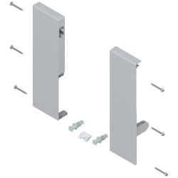 Mocowanie frontu TANDEMBOX , wys. D, do szuflady wewnętrznej z pojedynczym relingiem, lewe/prawe, do TANDEMBOX antaro