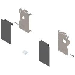 Mocowanie frontu LEGRABOX , wys. M, do szuflady wewnętrznej, lewe/prawe