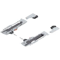 TIP-ON BLUMOTION zestaw (Jednostka + Zabierak + Adapter) do TANDEMBOX, Typ L5, dł. NL=350-650 mm, Całkowita waga szuflady=35-65