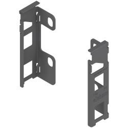 Uchwyt drewnianej ścianki tylnej LEGRABOX, wys. M (106 mm), prawy+lewy