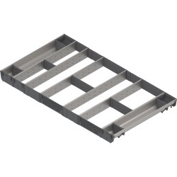 ORGA-LINE wkład kombi (całkowite wypełnienie), do szuflady standardowej TANDEMBOX, dł. NL 550 mm, szer. korpusu KB 1000 mm
