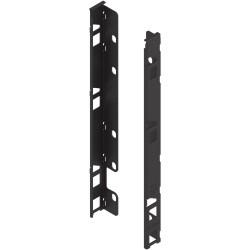 Uchwyt drewnianej ścianki tylnej LEGRABOX, wys. F (257 mm), prawy+lewy
