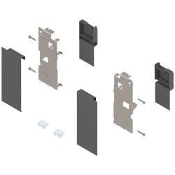 Mocowanie frontu LEGRABOX , wys. K, do szuflady wewnętrznej, lewe/prawe