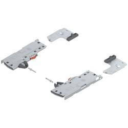 TIP-ON BLUMOTION zestaw (Jednostka + Zabierak + Adapter) do LEGRABOX/MOVENTO, Typ S1, dł. NL 270-349 mm, Całkowita waga szuflady