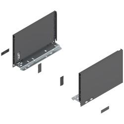 Bok szuflady LEGRABOX, wys. C (177,0 mm), dł. 270 mm, lewy/prawy, do LEGRABOX pure