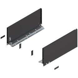 Bok szuflady LEGRABOX, wys. C (177,0 mm), dł. 400 mm, lewy/prawy, do LEGRABOX pure