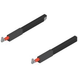 Reling podłużny TANDEMBOX  (górny), do szuflady z wysokim frontem, dł. 270 mm, lewy/prawy, do TANDEMBOX antaro