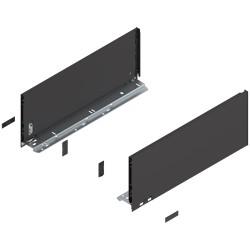 Bok szuflady LEGRABOX, wys. C (177,0 mm), dł. 450 mm, lewy/prawy, do LEGRABOX pure