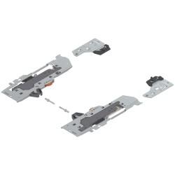 TIP-ON BLUMOTION zestaw (Jednostka + Zabierak + Adapter) do TANDEMBOX, Typ S1, dł. NL=270-349 mm, Całkowita waga szuflady=10-20