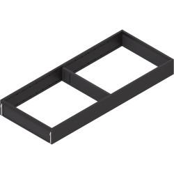 AMBIA-LINE  ramki do szuflady standardowej LEGRABOX, stal, dł. 500 mm, szerokość 200 mm