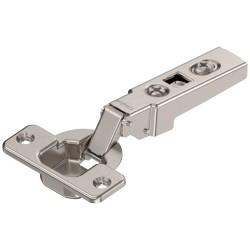 CLIP zawias standard. 100°, Drzwi nakładane, bez sprężyny, puszka: na wkręty