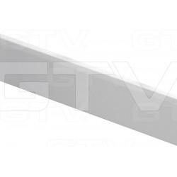 MB-LISTWA POPRZECZNA 1100mm BIAŁA KWADRAT